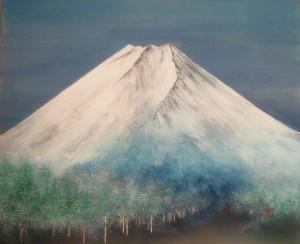 あらたまの富士